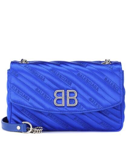 Balenciaga   BB Chain satin shoulder bag   Clouty