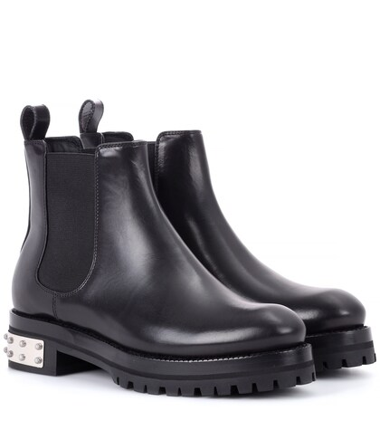 Alexander McQueen | Leather Chelsea boots | Clouty