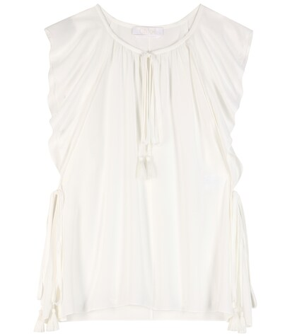 Chloé | Silk blouse | Clouty