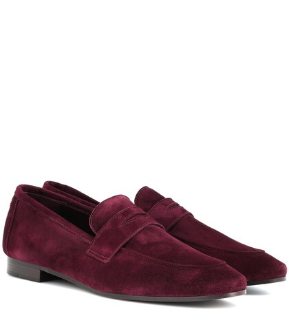 Bougeotte | Classic suede loafers | Clouty