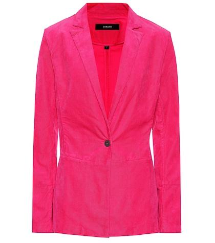 J Brand   Denise corduroy blazer   Clouty