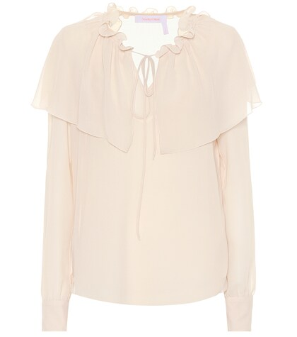 See by Chloé | Ruffled georgette blouse | Clouty