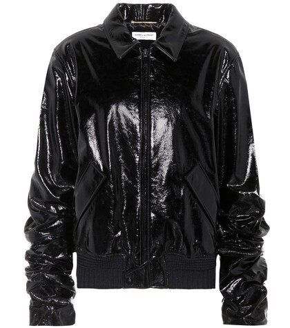 SAINT LAURENT | Patent leather jacket | Clouty