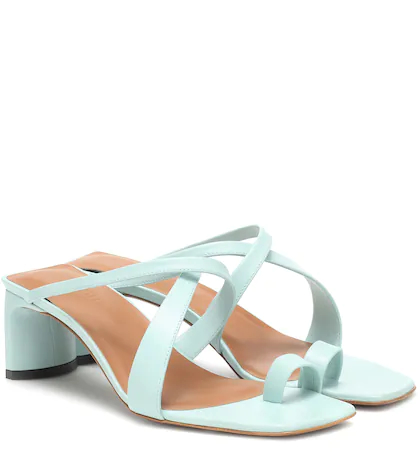 Neous | Exclusive to Mytheresa – Nitis leather sandals | Clouty