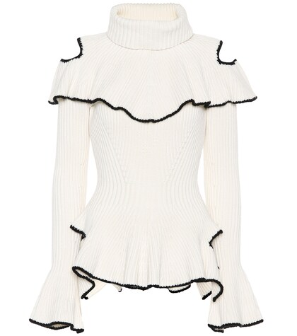 Alexander McQueen | Wool and cashmere sweater | Clouty
