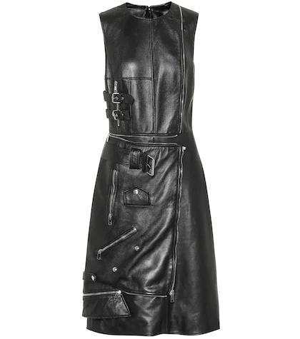 Alexander McQueen | Leather dress | Clouty