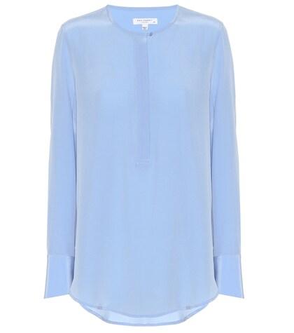 Equipment | Henley silk blouse | Clouty
