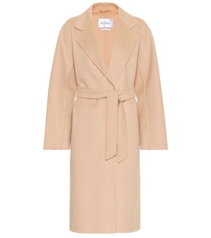 MAX MARA   Rapallo wool and angora coat   Clouty