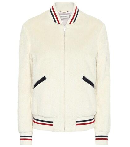 SAINT LAURENT | Cotton bomber jacket | Clouty