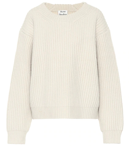Acne Studios | Ribbed wool sweater | Clouty