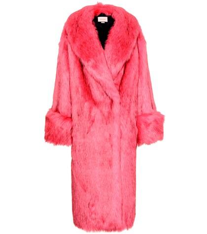 GUCCI   Faux fur coat   Clouty