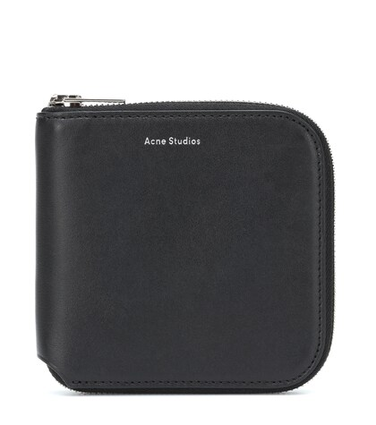 Acne Studios   Csarite S leather wallet   Clouty