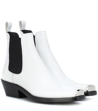 Фото Claire leather ankle boots