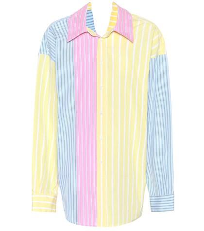 Marni   Oversized striped cotton shirt   Clouty