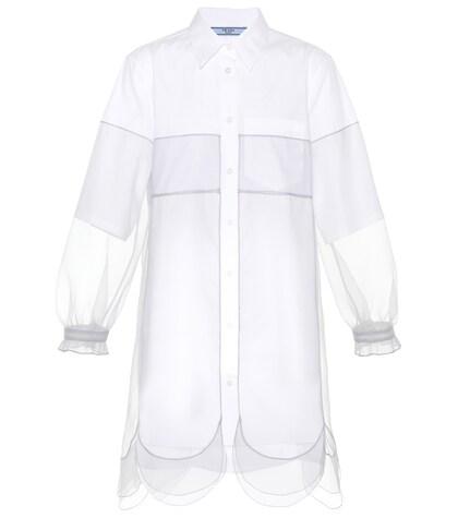 PRADA | Cotton-blend dress | Clouty