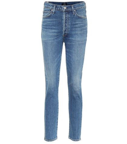 Citizens Of Humanity | Olivia high-rise slim jeans | Clouty