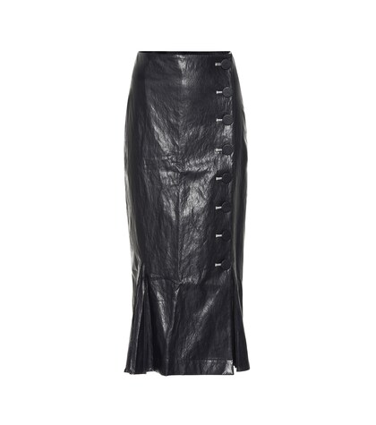 Rejina Pyo   Tyler faux leather pencil skirt   Clouty