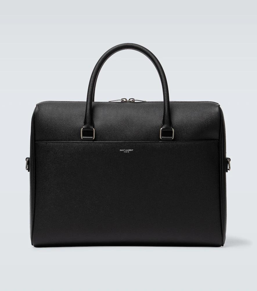 SAINT LAURENT | Duffle leather briefcase | Clouty