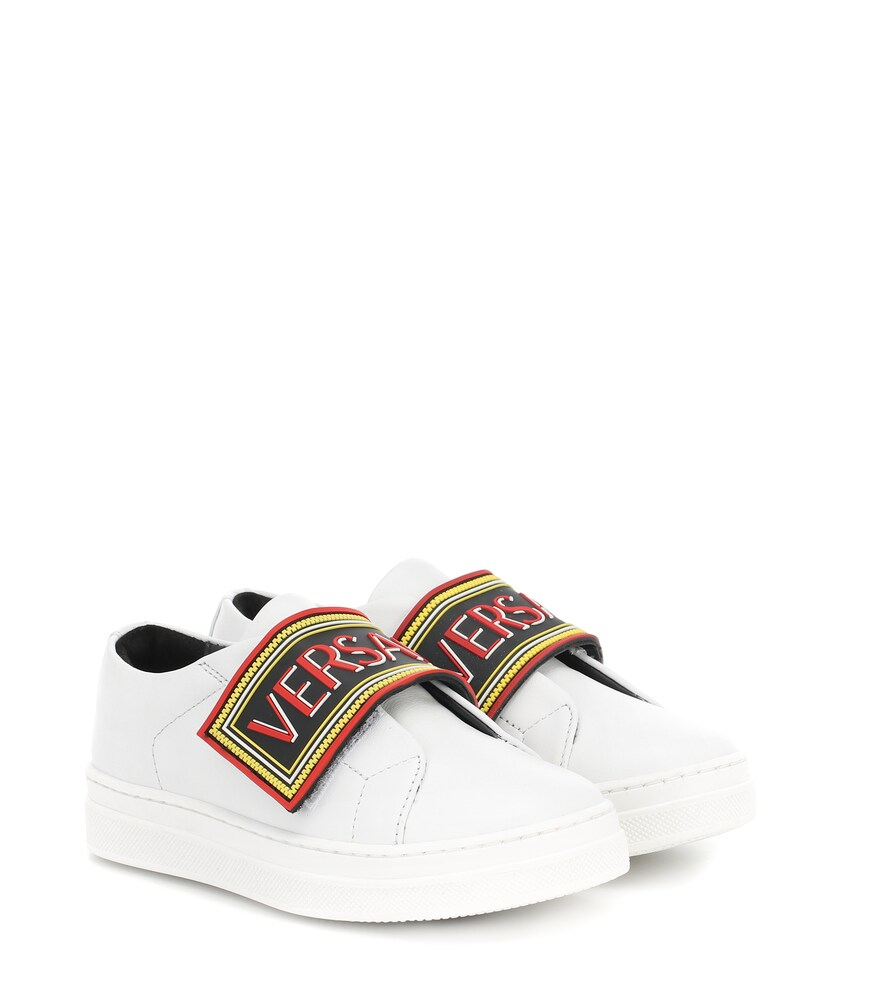Versace Kids | Leather sneakers | Clouty