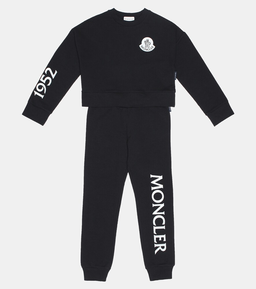 Moncler Enfant | Stretch cotton tracksuit | Clouty