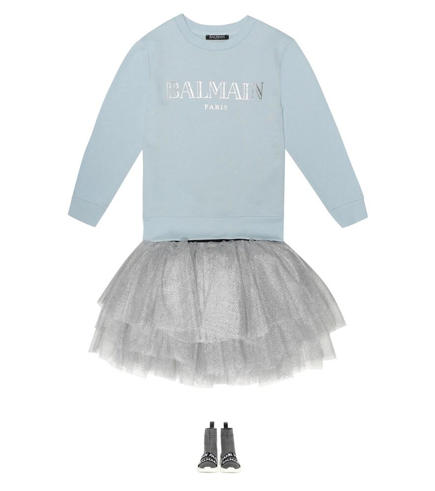 Balmain Kids | Logo cotton sweatshirt | Clouty