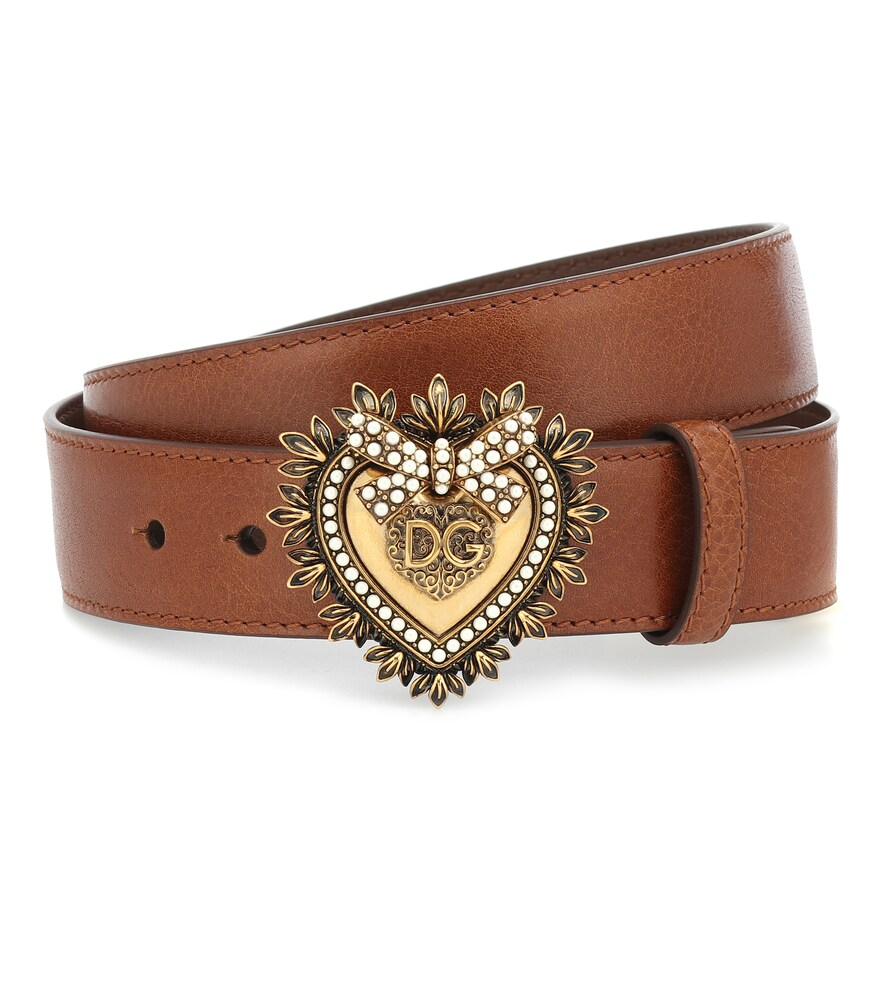 Dolce & Gabbana | Devotion leather belt | Clouty