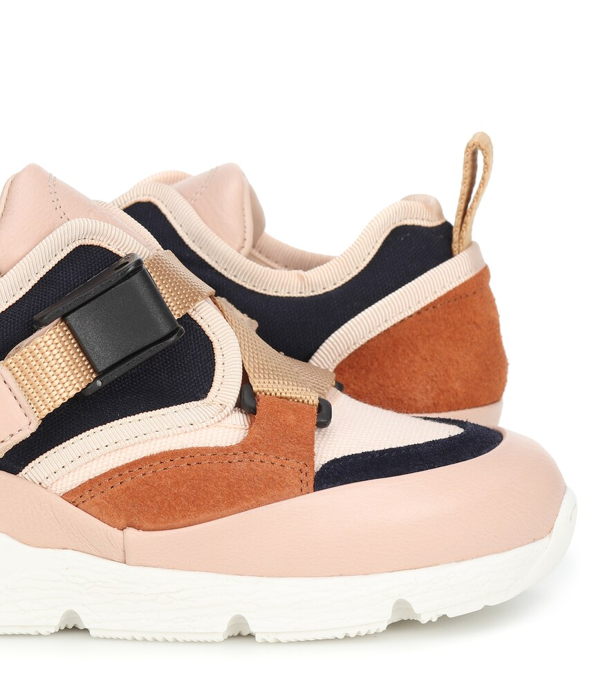 Chloé Kids | Colorblocked sneakers | Clouty