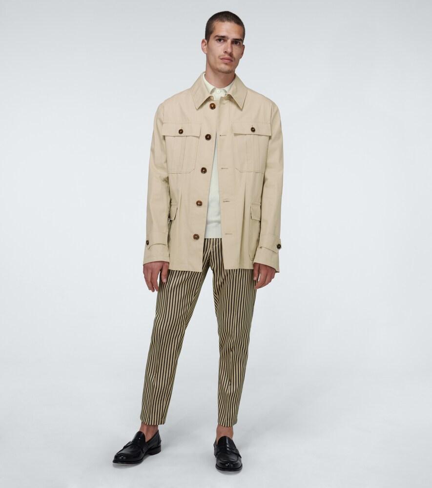 Dolce & Gabbana   Cotton safari jacket   Clouty