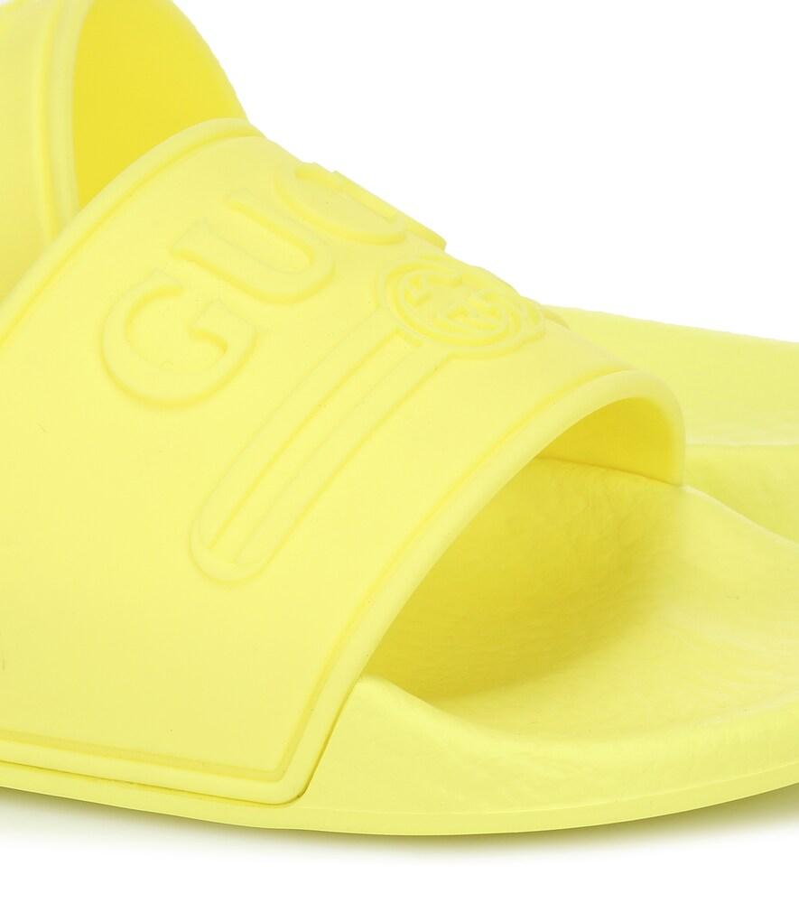 Gucci Kids | Logo rubber slides | Clouty