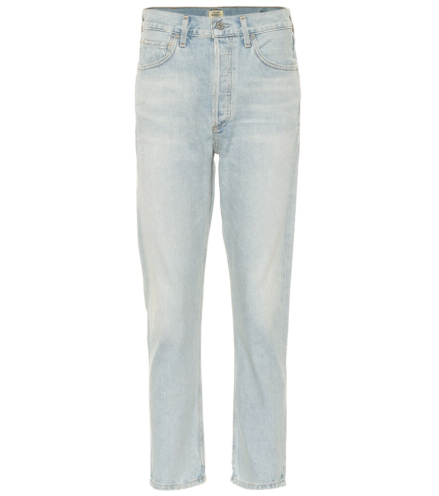 Citizens Of Humanity | Charlotte high-rise straight jeans | Clouty
