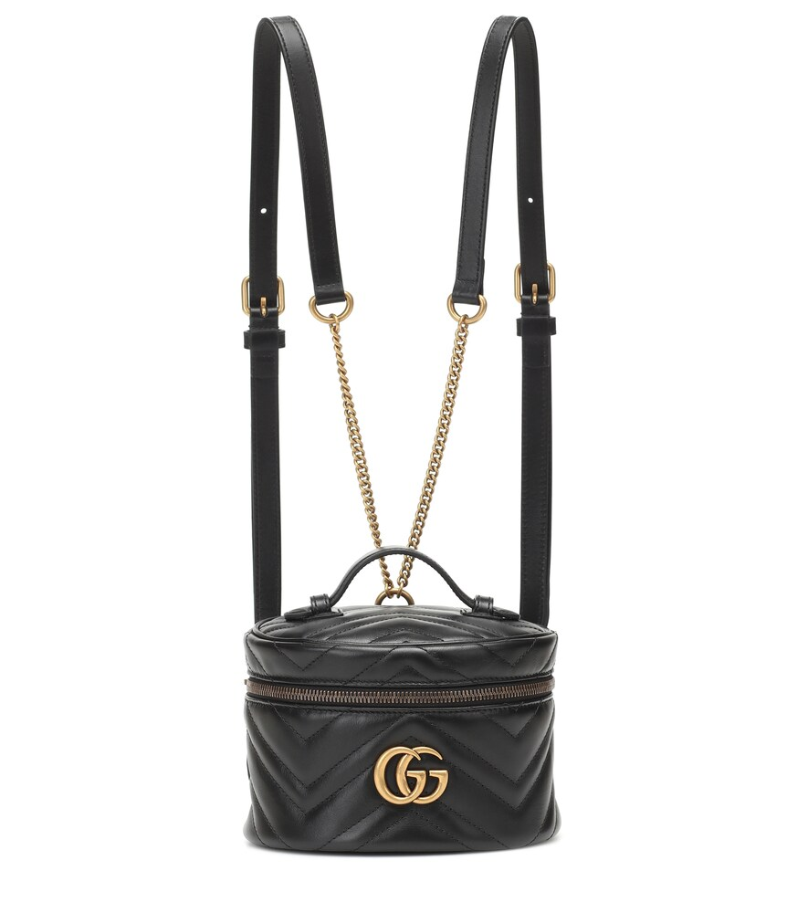 GUCCI | GG Marmont Mini leather backpack | Clouty
