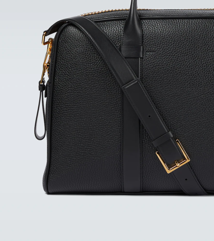 Tom Ford   Buckley leather briefcase   Clouty
