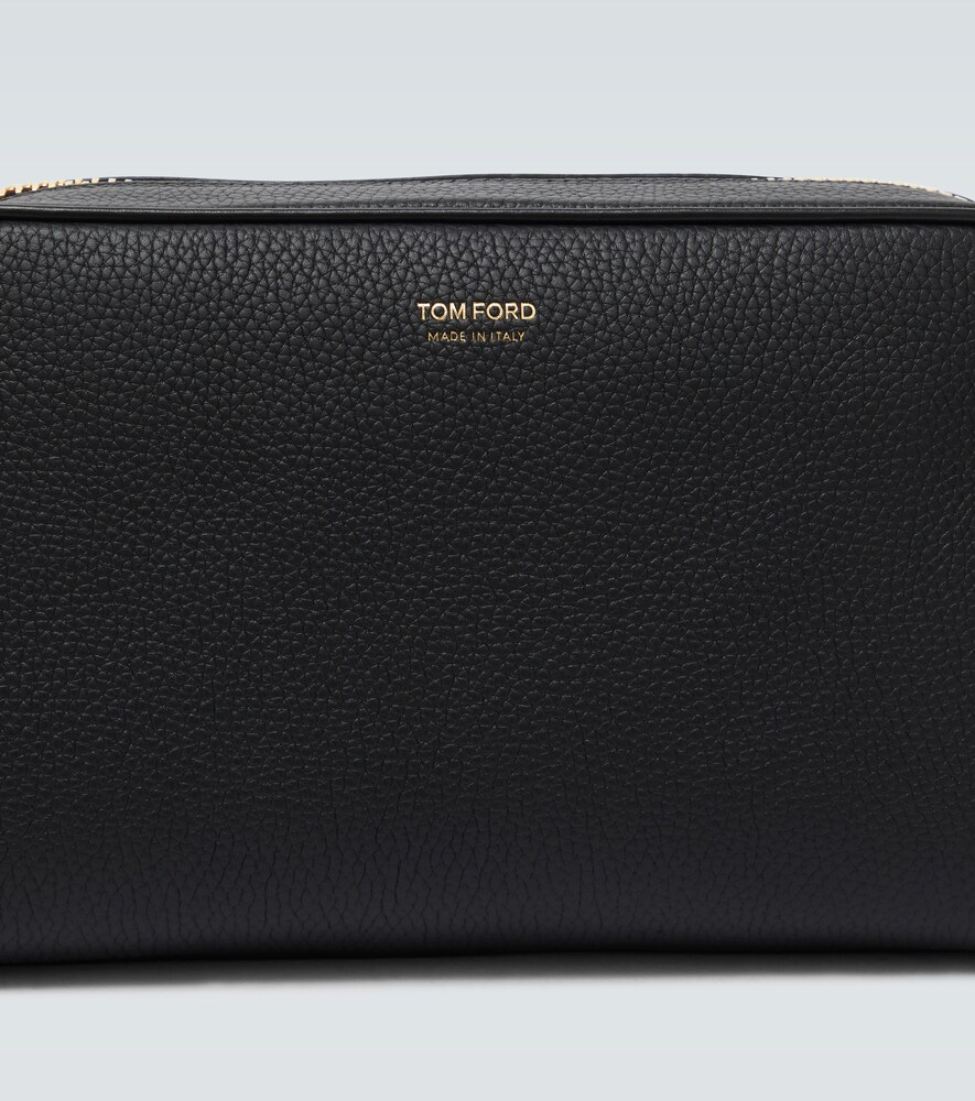 Tom Ford | Grained leather wash bag | Clouty