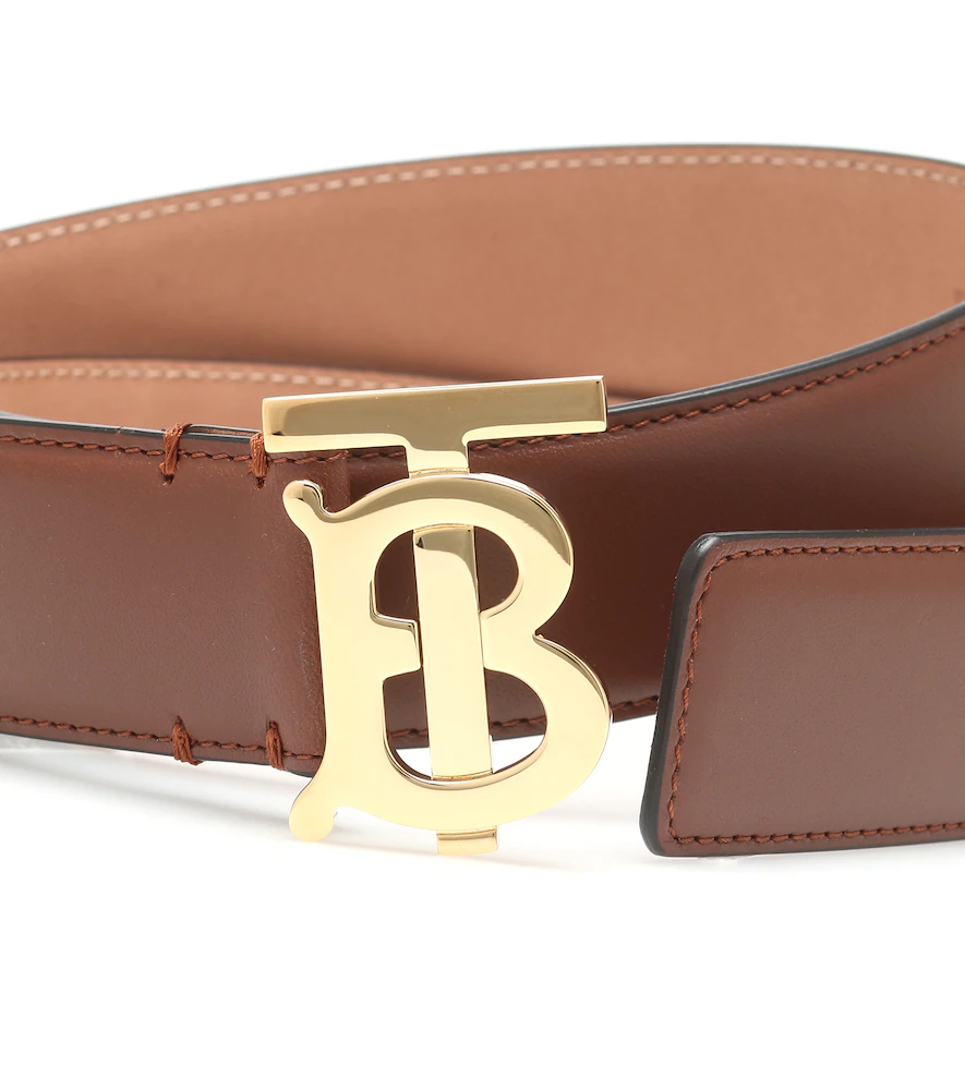 BURBERRY | TB leather belt | Clouty