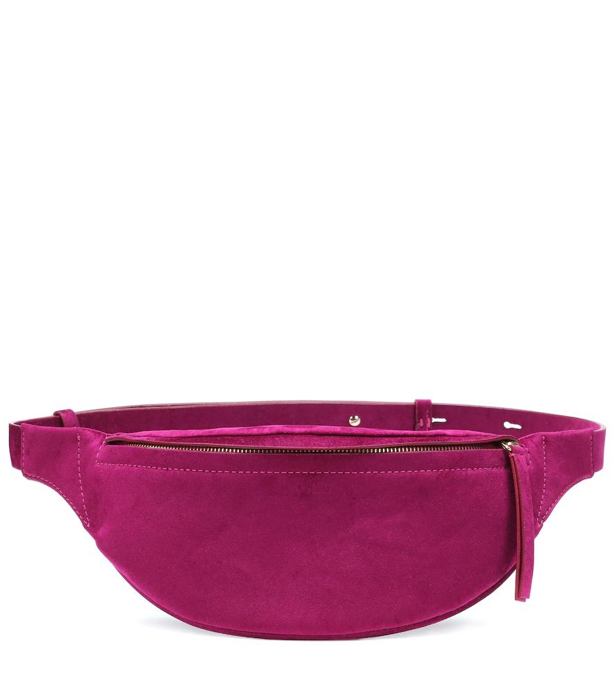 Nanushka | Lubo velvet belt bag | Clouty