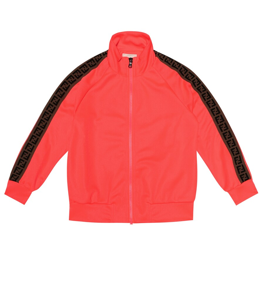 Fendi Children | Stretch-jersey track jacket | Clouty