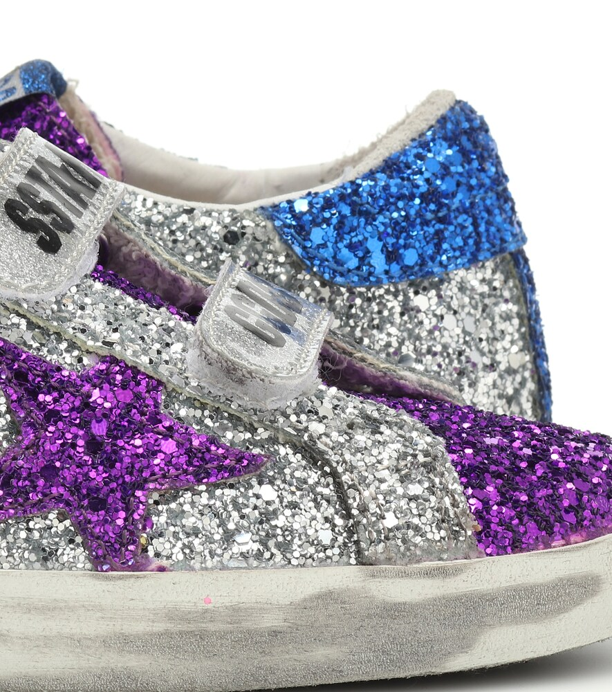 Golden Goose Deluxe Brand | Old School glitter sneakers | Clouty