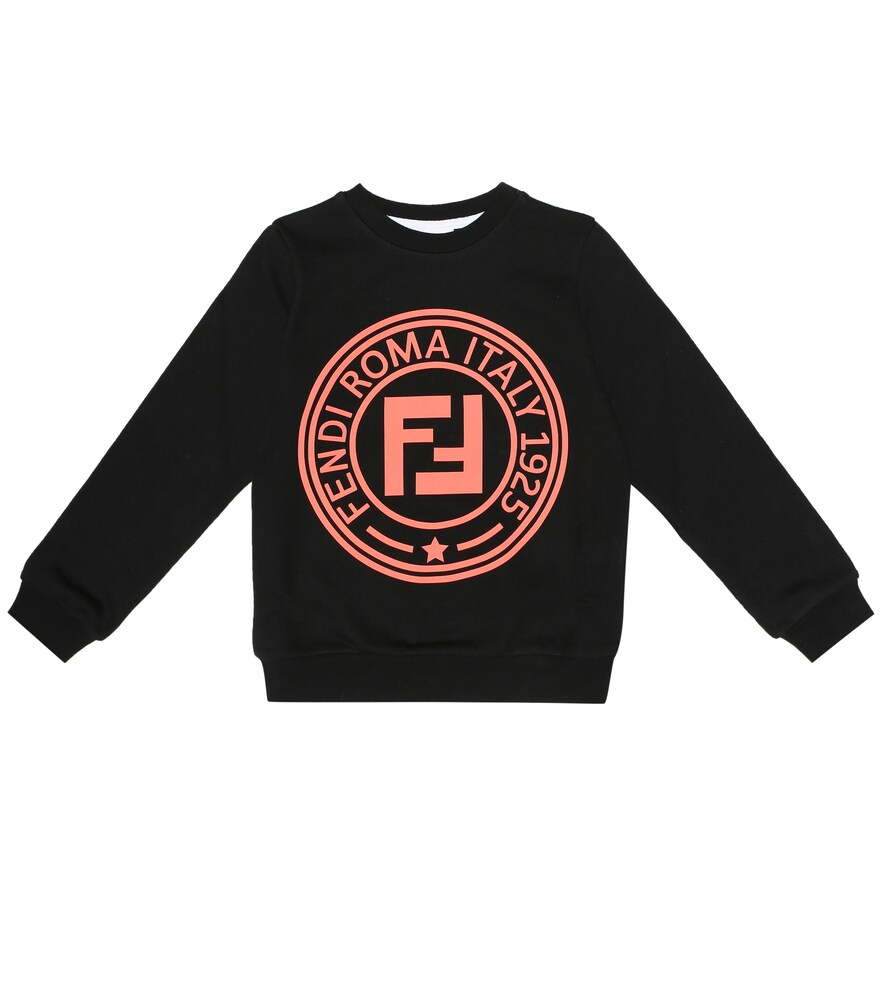 Fendi Children | Logo cotton sweatshirt | Clouty
