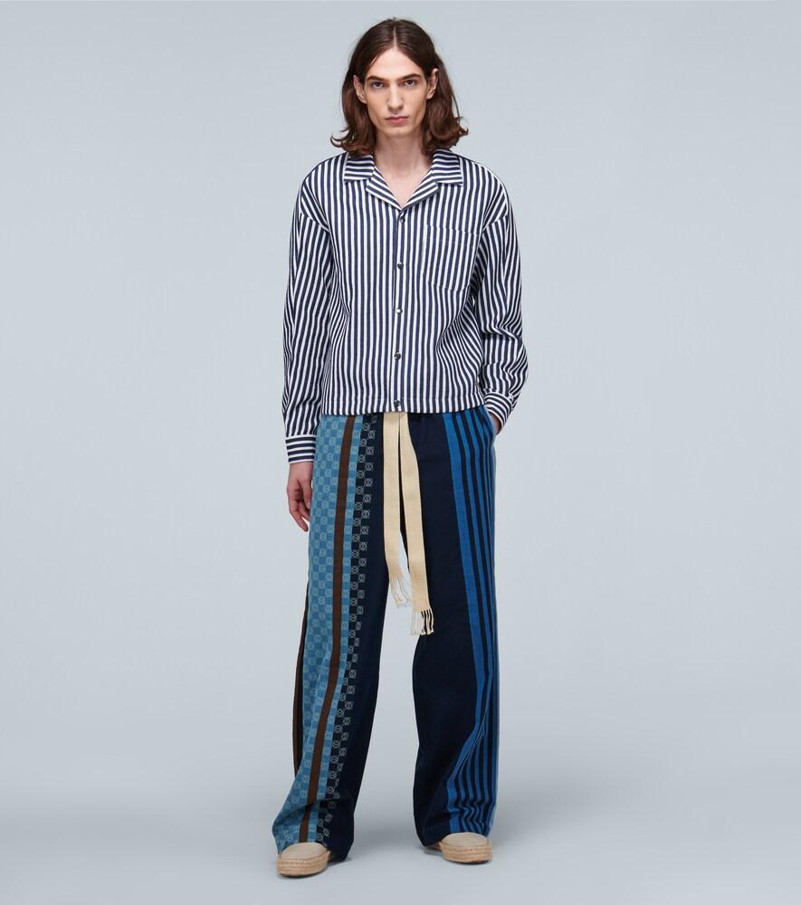Goetze | Billy cotton-blend striped jacket | Clouty