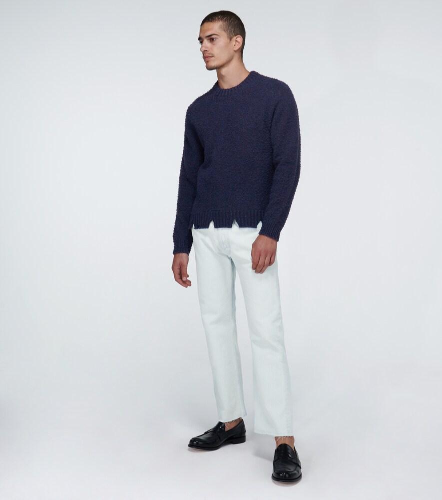 Maison Margiela   Super bleached '80s jeans   Clouty
