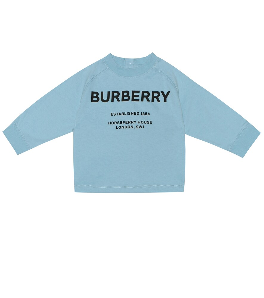 Burberry Kids | Baby logo cotton shirt | Clouty