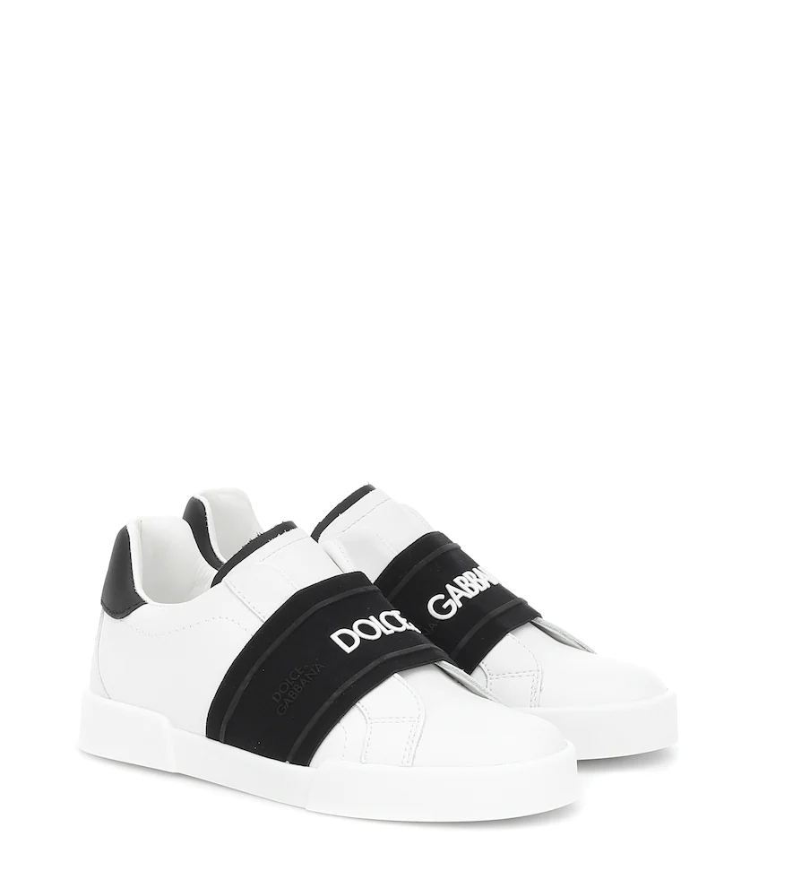 Dolce & Gabbana Junior | Leather sneakers | Clouty