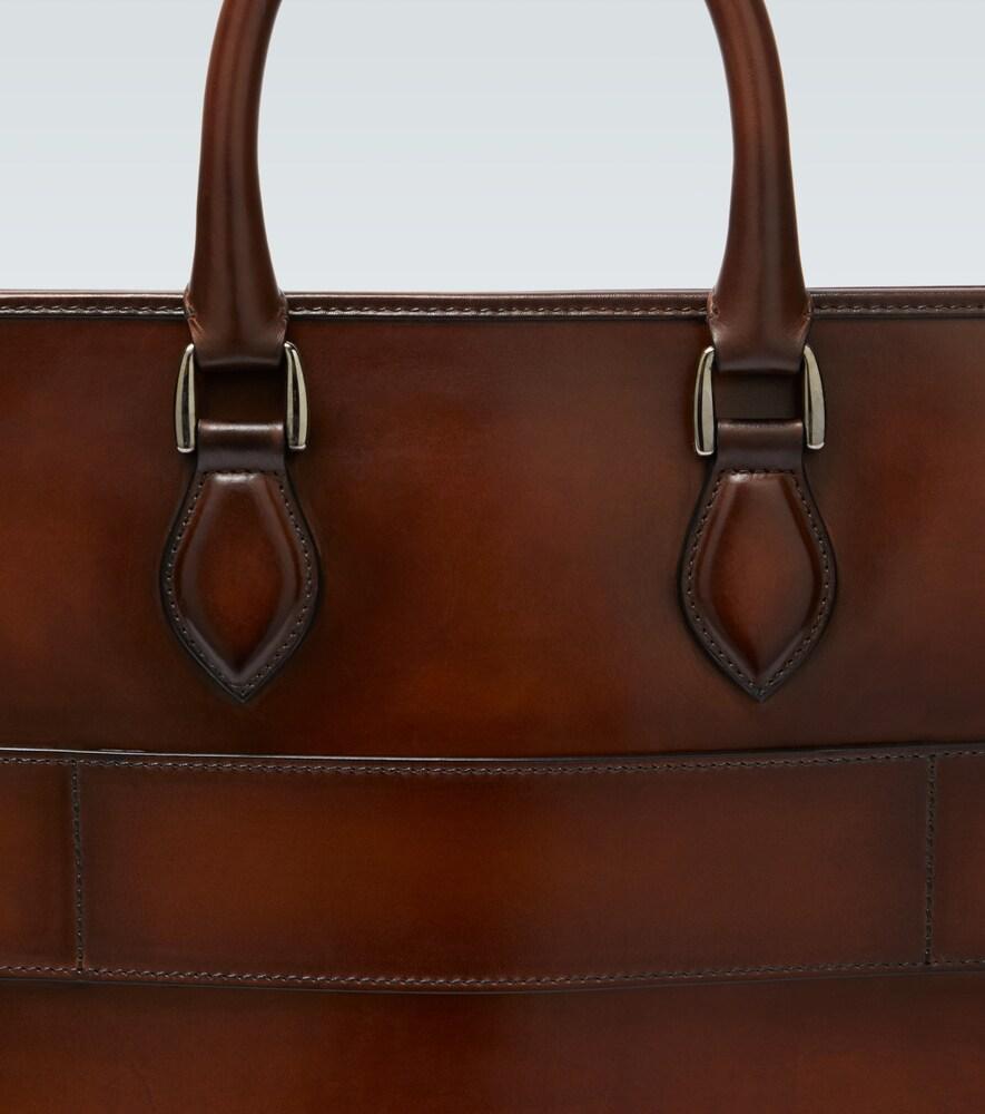 Berluti | Un Jour leather briefcase | Clouty