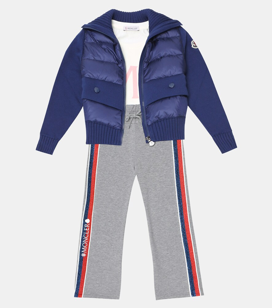 Moncler Enfant | Down and cotton jacket | Clouty