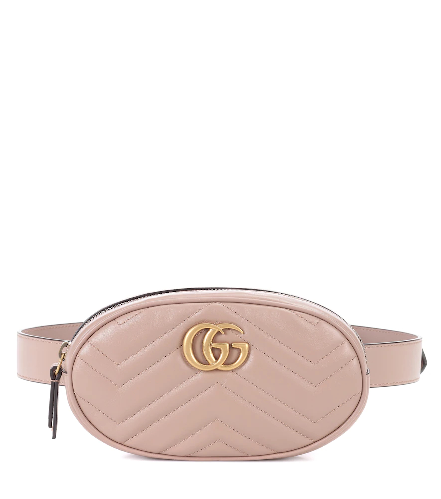 GUCCI   GG Marmont leather belt bag   Clouty