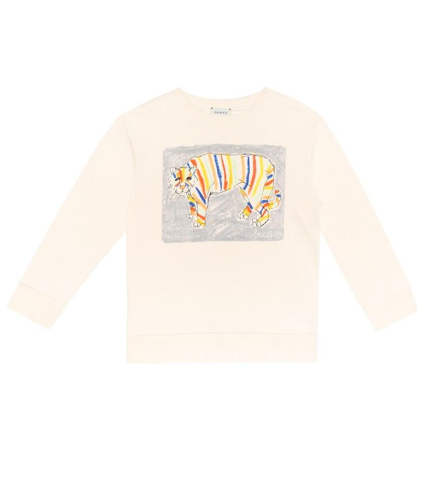 Gucci Kids | Printed cotton sweatshirt | Clouty