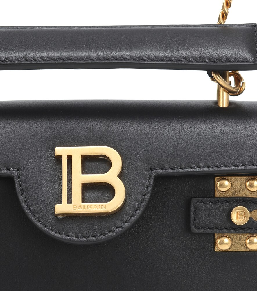 BALMAIN | BBuzz 18 leather backpack | Clouty