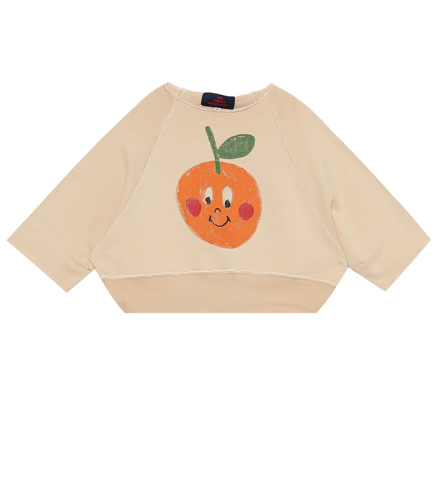 The Animals Observatory | Squab cotton-jersey sweatshirt | Clouty