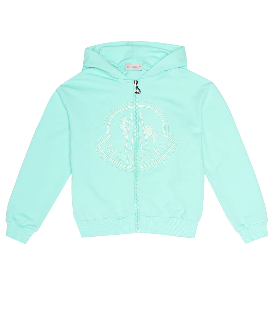 Moncler Enfant | Embroidered cotton hoodie | Clouty