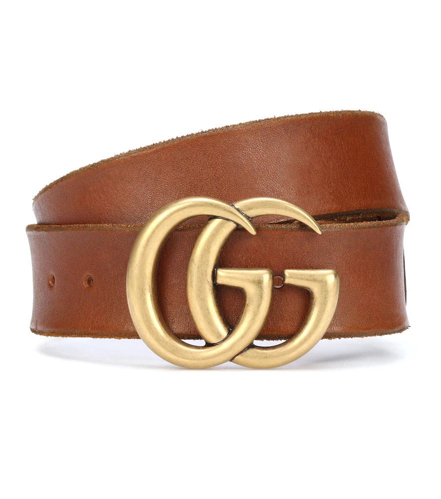 GUCCI | GG leather belt | Clouty